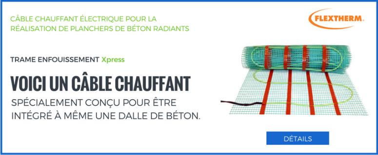 câble_chauffant_pour_dalle_de_béton_flextherm